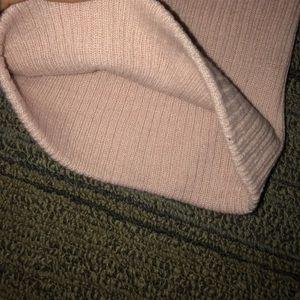 rose pink soft beanie